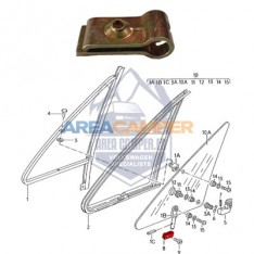 Vent wing clamp VW T2 and T3 (08/1967-07/1992)