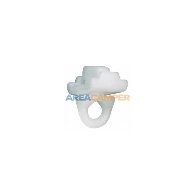 Retainer for curtain sliding rings 10 mm rail