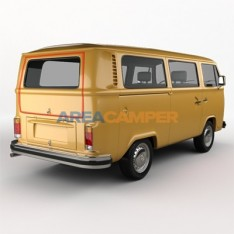 Tailgate seal VW T2 (08/1972-07/1979)