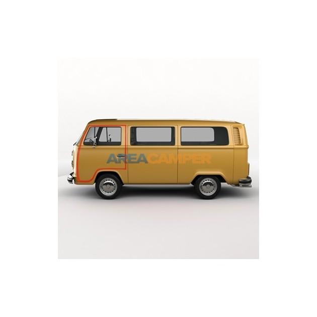 Junta puerta izquierda cabina, VW T2 (1968-1979)