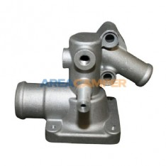 Thermostat aluminium housing for Syncro 1900 CC (DG) and 2100 CC (SS,MV,DJ) engines from 1985