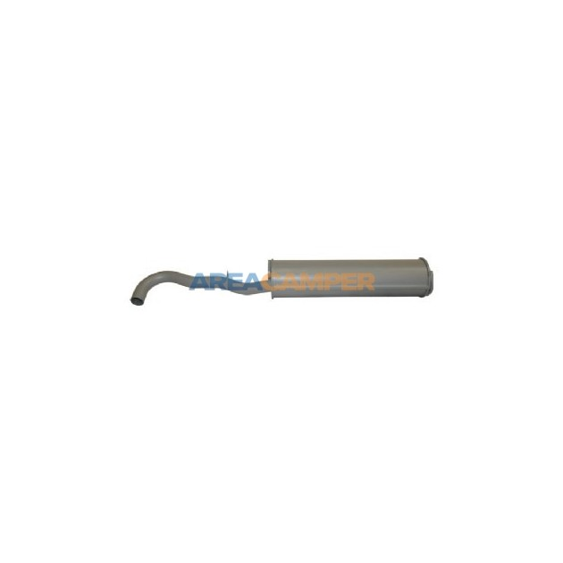 Rear exhaust 1600 CC (CT), 06/1980-12/1982