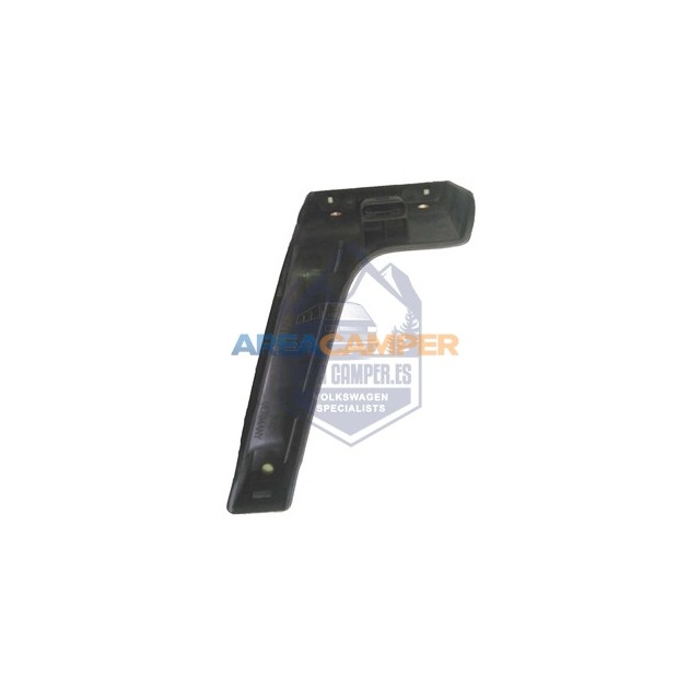 Bottom part of interior left door handle, black