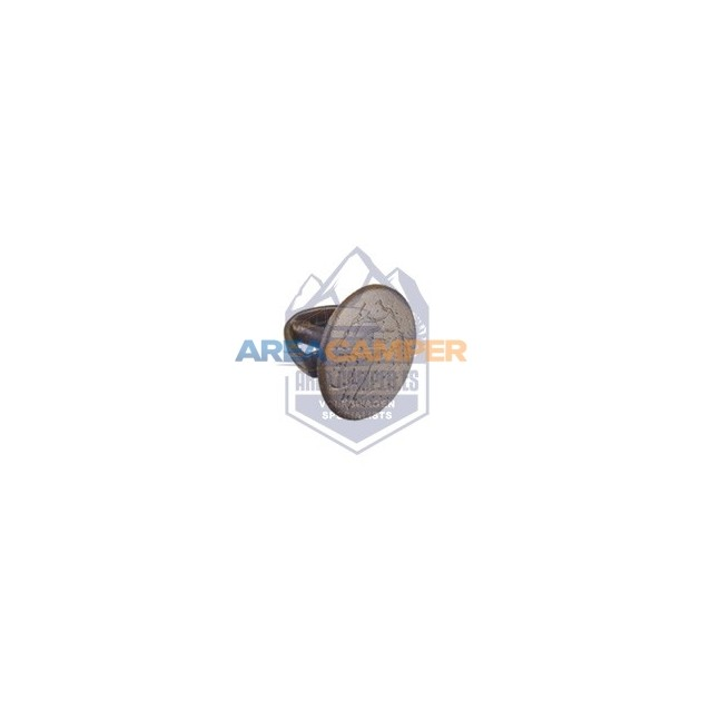 Clip for interior panels, brown