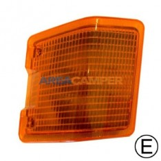 Front indicator lamp without bulb holder, right side