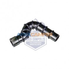 Flexible hose on idle control valve 2100 CC (08/1987-07/1992), from chassis 24-L-000 001