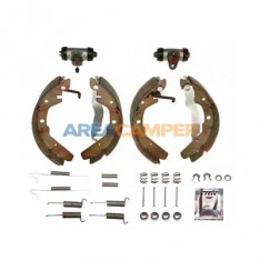 Rear brake shoes set