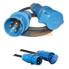 Connector cable CEE17 male / CEE17 female, 1.5 mts