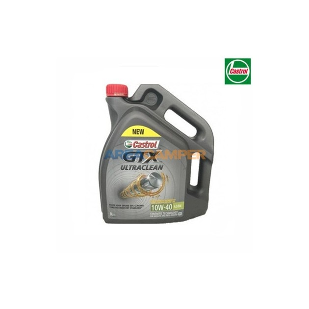 Engine oil Castrol GTX Ultraclean 10W40 A3/B4 5L