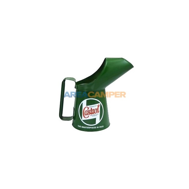 Castrol oil pouring can, capacity 1 pint (0,57 L)