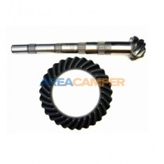 Pinion and crown 29/7 (4,14) for 5 speed 2WD gearboxes