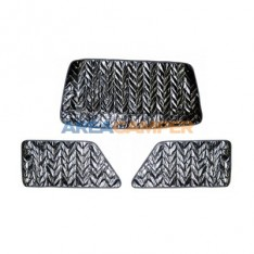 VW T3 cabin 7 layers thermo mat set, 3 pieces