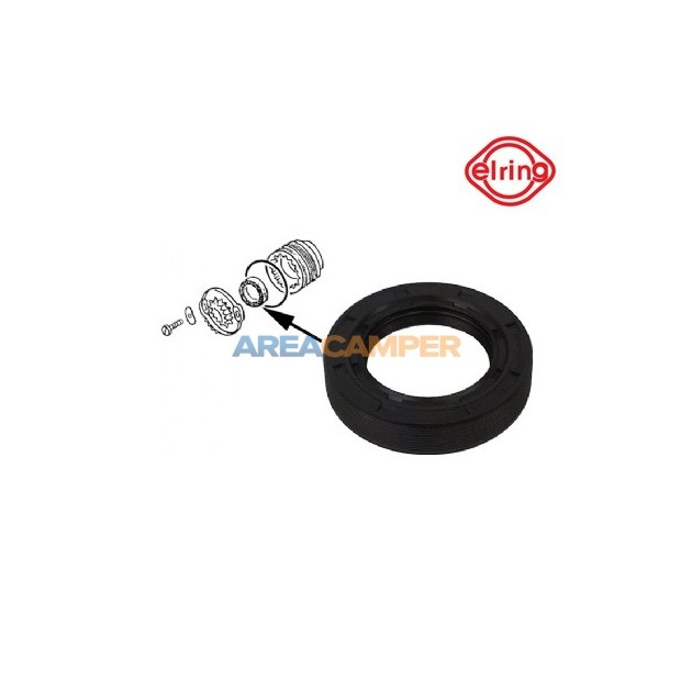 Drive flange seal 45x72x15 mm  for VW T2 (08/1975-07/1979) and VW T3 (05/1979-07/1992) manual gearboxes