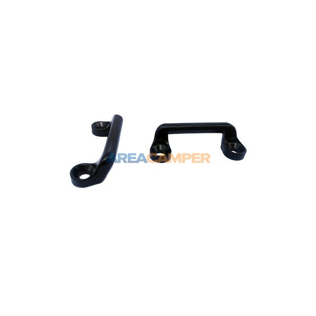 Metallic strap bracket, 2 units