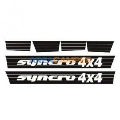 VW T3 Syncro lower decal set