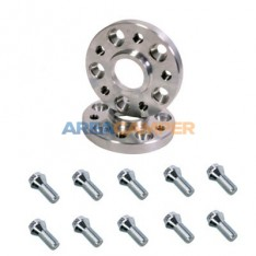 Wheel spacers for VW T3, Bolt on 25 mm 5x112