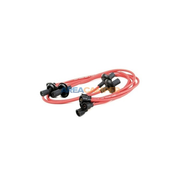 Ignition cables in silicone 7 mm VW T1 1200 CC to 1600 CC (08/1960-07/1967) & VW T2 1600 CC (08/1967-07/1979)