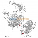 Parafuso M24 x 1,5 drenado óleo caixa velocidades, magnético