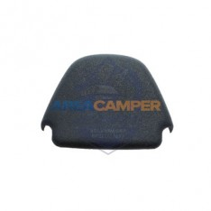 Plastic cap for front safety belt upper point