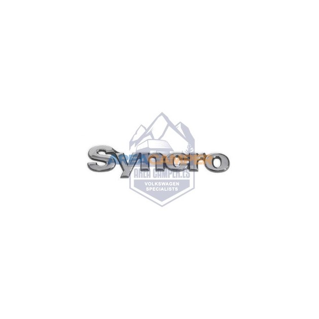 Syncro emblem for the VW Sharan