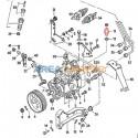 Electroválvula desconexión bomba inyectora VW T3 1.6L D/TD, 1.7L D y VW T4 1.9L D/TD