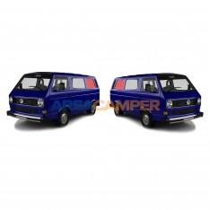 Vidro janela lateral traseira esquerda ou direita para modelos com aerador, transparente