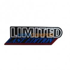 Limited Last Edition rear sticker, 01/1992-07/1992