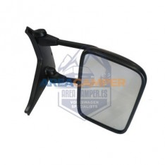 Flat manual VW T4 double cab pick-up right wing mirror (1996-2003), LHD