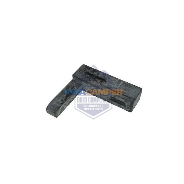 Rubber support for air intake duct on 2.1L petrol engines (08/1984-07/1992)