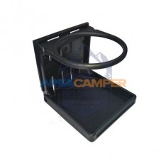 Folding cupholder, black