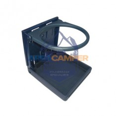 Posavasos plegable VW T4 (1996-2003), color azul Laguna