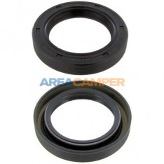 Crank pulley seal Ø48x68x10 mm pulley side 1.9L and 2.1L petrol engines, not Syncro