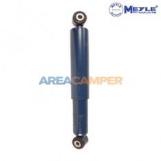 Rear shock absorber, oil pressure