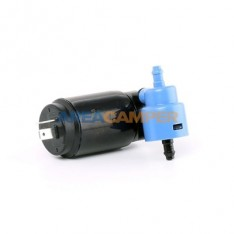 Windscreen wiper washer double pump, for VW T4 with rear window wiper washer