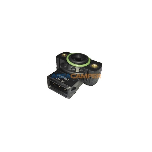 Potenciometro, sensor posição borbolet aVW T4 2.0L e 2.5L gasolina