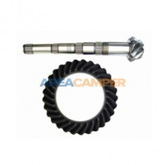 Pinion and crown R:29/7 (4,14) for 4 speed 2WD gearboxes
