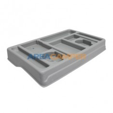Dashboard tray for VW T4, light grey