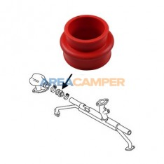Conector silicone colector de admissão motor tipo 1 VW T2 e VW T3 1.6L aircooled, 08/1970-12/1982