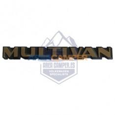 """Emblema trasero Multivan, """"collectors Edition 40 aniversario"""" dorado"""