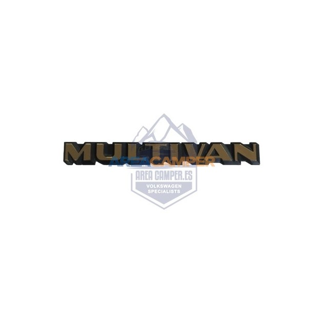 "Multivan rear emblem, ""collectors Edition 40th anniversary"" golden"