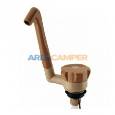 Swing faucet, brown