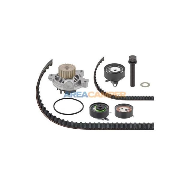 Bomba de água + kit de correia dentada VW T4 2.5L TDI 102 CV (ACV, AUF, AYC)