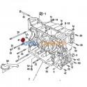 Tapón sellado extremo cárter árbol de levas VW T2 1.6L a 2.0L y VW T3 gasolina 1.6L, 1.9L, 2.0L 2.1L