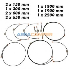 Brake line kit VW T3 (08/1983-07/1985), steel