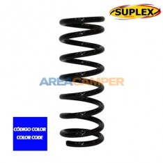 Coil spring for front axle