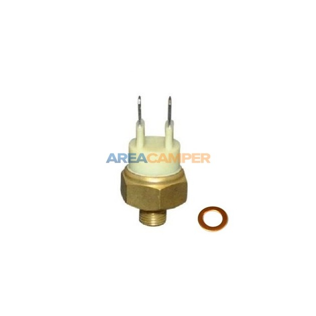 Thermal switch (white) 55º-65ºC for inlet manifold heating 1900 CC (DF-DG), 08/1982-07/1992