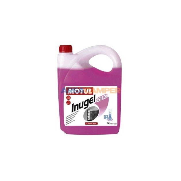 Organic 50% (-37º) G12 Motul Inugel Long Life antifreeze coolant