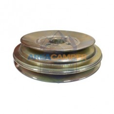 Dual pulley for crankshaft, VW T3 Diesel engines with power steering