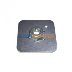 Safety belt 65x65x3 mm mounting plate