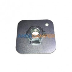 Safety belt 55x55x2 mm mounting plate